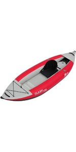 2019 Z-Pro Flash 1 Man High Pressure Inflatable Kayak Red FL100 - Kayak Only