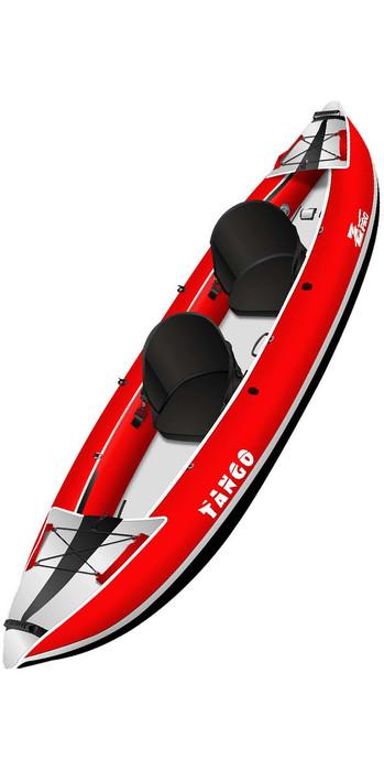 2020 Z-Pro Tango 1 or 2 Man Inflatable Kayak TA200 RED - Kayak Only