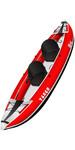 2020 Z-Pro Tango 200 1-2 Man Inflatable Kayak TA200 RED + 2 FREE PADDLES + PUMP