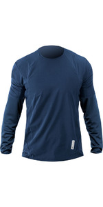 2019 Zhik Avlare LT Long Sleeve Top STEEL BLUE ATE0095