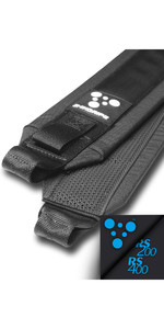 2020 Zhik Rs 200/400 Helm Padded Zhikgrip II Hiking Straps STRAP-234-RS-HELM-PADDED - Black