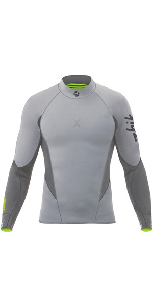 2019 Zhik Superwarm X 3/2mm Neoprene Top GREY DTP1170