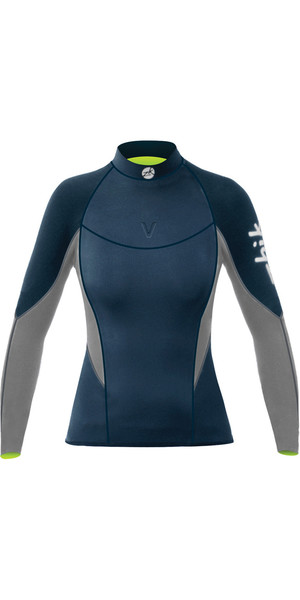 2018 Zhik Womens Superwarm V Neoprene Top NAVY DTP1120W
