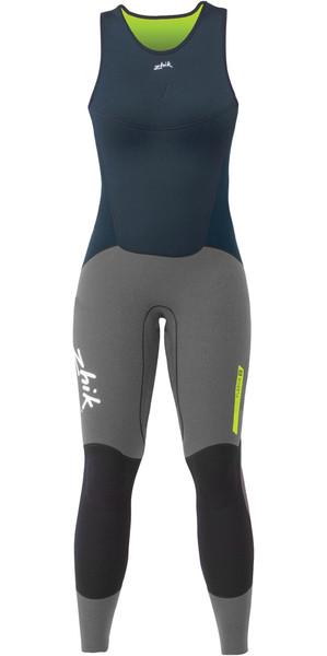 2019 Zhik Womens Superwarm V Skiff Long John Wetsuit NAVY SKF1120W