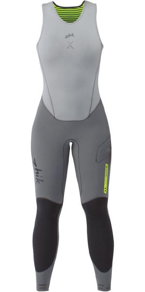 2019 Zhik Womens Superwarm X Skiff 3/2mm Long John Wetsuit GREY SKF1170W