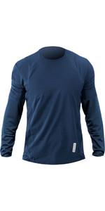 2019 Zhik Avlare LT Long Sleeve Top STEEL BLUE ATE0095
