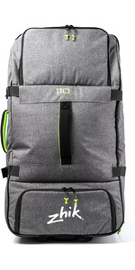 2020 Zhik 110L Wheelie Bag Grey LGG0550