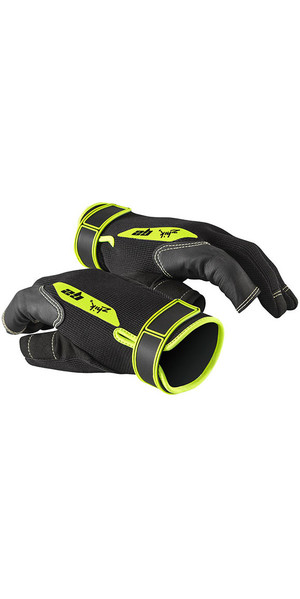 2019 Zhik G2 Full Finger Sailing Gloves Black 0025