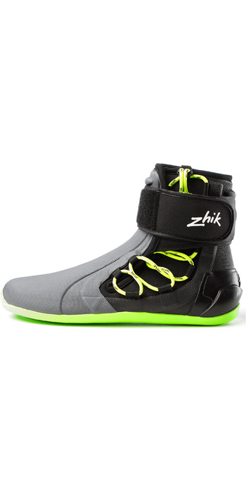 2021 Zhik High Cut Boots Grey / Black DBT0270