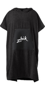 2020 Zhik Hooded Towel Poncho TWL0020 - Black