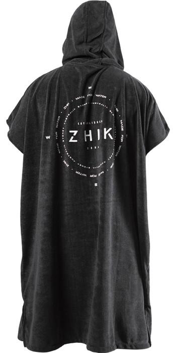 2021 Zhik Hooded Towel TWL-0022 - Black