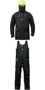 2019 Zhik Isotak 2 Jacket JK851 & Salopettes SAL851 Combi Set Black