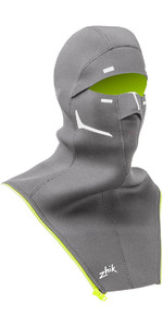 2019 Zhik Isotak X Neoprene Zip On Balaclava Grey BLC1100