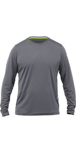 2019 Zhik Long Sleeve ZhikDry LT Top Grey TOP73
