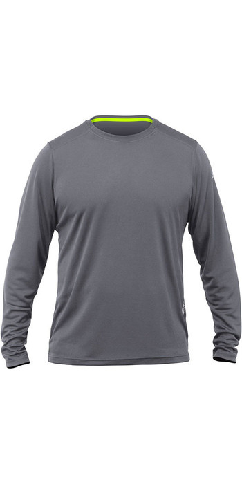 2020 Zhik Long Sleeve ZhikDry LT Top Grey TOP73