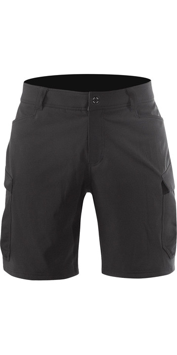 2020 Zhik Mens Harbour Shorts Black SRT0270