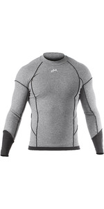 2019 Zhik Mens Hydromerino L / S Top Grey YTP0040