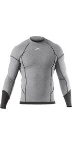 2020 Zhik Mens Hydromerino Long Sleeve Top Grey YTP0040