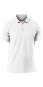 2020 Zhik Mens Lightweight Polo Shirt White Marl POL0005