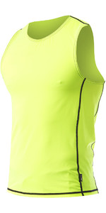 2021 Zhik Mens Spandex UV50 Rash Vest TOP60 - HiVis