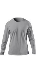2021 Zhik Mens ZhikDry UV Active Long Sleeve Top ATP0070 - Grey