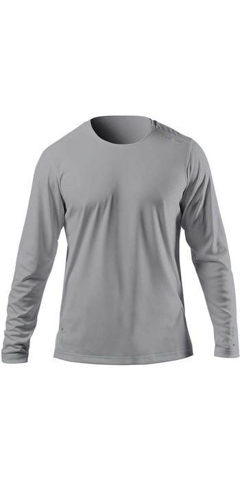 2021 Zhik Mens ZhikDry UV Active Long Sleeve Top ATP0070 - Grey