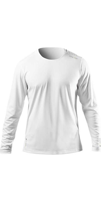 2021 Zhik Mens ZhikDry UV Active Long Sleeve Top ATP0070 - White