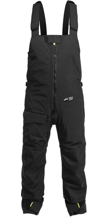 Zhik Mens Zip Fleece, Kiama Sailing Trousers & Fleece Beanie Package Deal - Dark Grey / Black