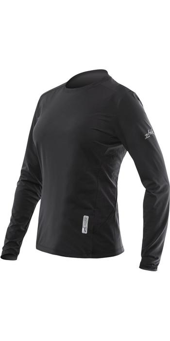 2021 Zhik Womens Avlare LT Long Sleeve Top Black ATE0095W