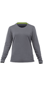 2019 Zhik Womens Long Sleeve ZhikDry LT Top Grey TOP73W