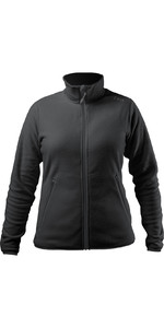 2021 Zhik Womens Polartec Zip Fleece JKT-0032W - Black
