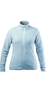 2021 Zhik Womens Polartec Zip Fleece JKT-0032W - Ice