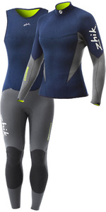 Zhik Womens Superwarm V Neoprene Top & Long John Combi Set