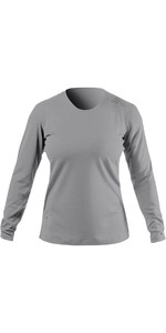 2021 Zhik Womens ZhikDry UV Active Long Sleeve Top ATP0070W - Grey