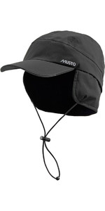 Musto Waterproof Fleece Lined Cap Black AE0080