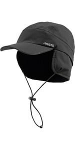Musto Waterproof Fleece Lined Cap Black AE0080