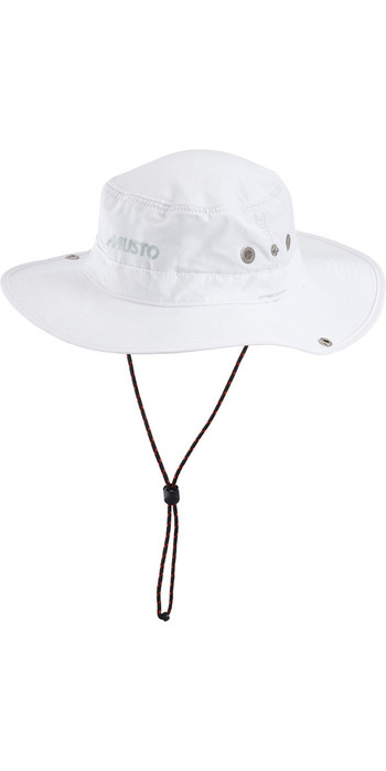 Musto Evolution Fast Dry Brimmed Hat WHITE AL1410