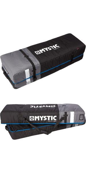 Mystic Ammo TWIN Box With Wheels 1.4m Black / Blue Detail 140530