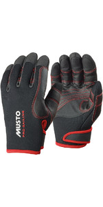 2021 Musto Performance Winter Long Finger Gloves BLACK AS0594