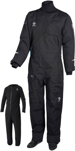 2018 Crewsaver Junior Atacama Pro Drysuit INCLUDING UNDERSUIT BLACK 6556J
