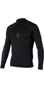 2021 Mystic Mens Long Sleeve Bipoly Thermo Vest BLACK 140070