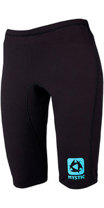 2021 Mystic Womens Bipoly Thermo Shorts BLACK 140090