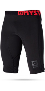 2021 Mystic Mens Bipoly Thermo Shorts BLACK 140075