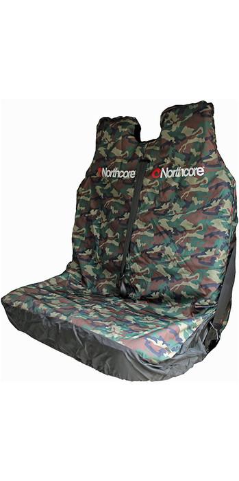2020 Northcore Waterproof Double Van Seat Cover CAMO NOCO06B