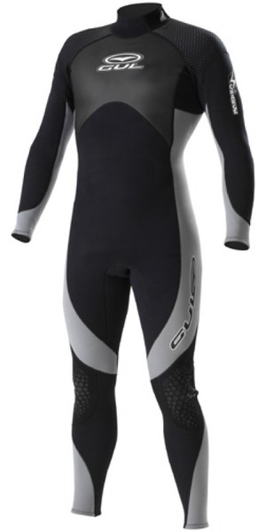 Gul Charge Steamer Wetsuit 5/4/3mm Black / Grey CH1210