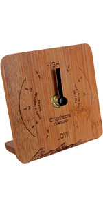 2020 Northcore Desk Top Bamboo Tide Clock NOCO88
