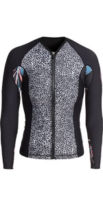 2020 Roxy Womens POP Surf 1mm Neoprene Jacket ERJW803018 - Black