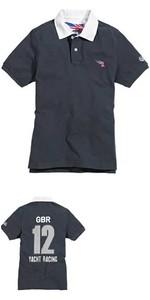 Musto STGBR GRAPHIC Polo Shirt - NAVY STGBR0260