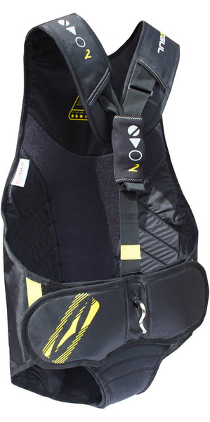 2018 Gul Junior Evolution 2 Trapeze Harness in Black / Yellow GM0374