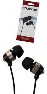 2021 Northcore 'Soundwave' Waterproof Earphones BLACK NOCO181B